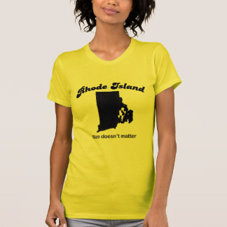 Rhode Island - Size doesn't matter Tee Shirt