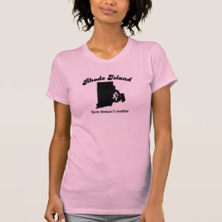 Rhode Island - Size doesn't matter Tees