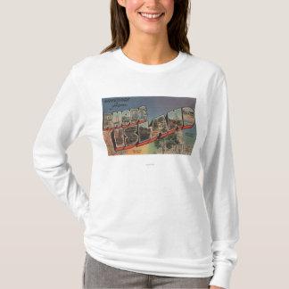 Rhode Island (State Capital/Flower) T-Shirt