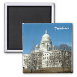 Rhode Island State Capitol Fridge Magnet