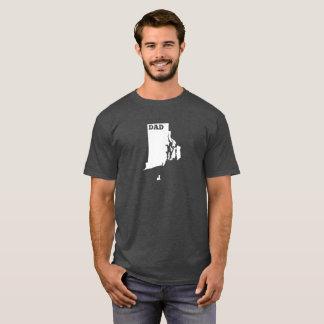 Rhode Island State Dad T-shirt