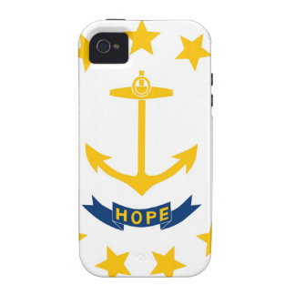 Rhode Island State Flag iPhone 4/4S Cover