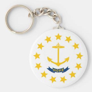 Rhode Island State Flag Key Chains