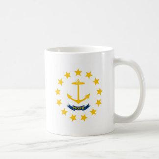 Rhode Island State Flag Mugs