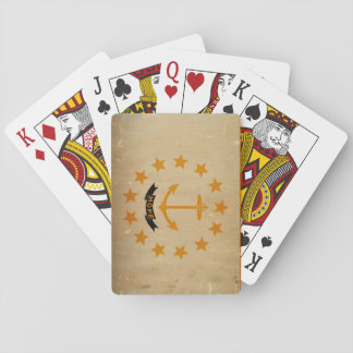 Rhode Island State Flag VINTAGE Playing Cards