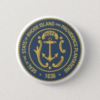 Rhode Island State Seal 6 Cm Round Badge
