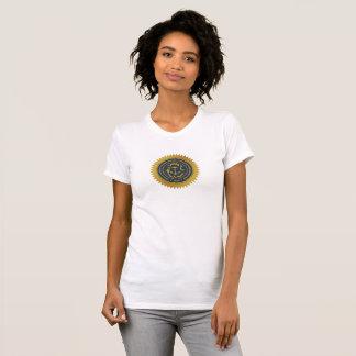 Rhode Island state seal america republic symbol fl T-Shirt