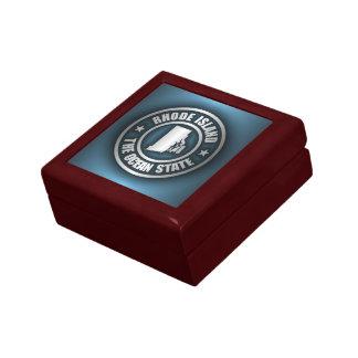 Rhode Island Steel (B) Small Square Gift Box