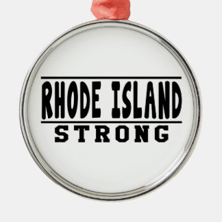 Rhode Island Strong Designs Christmas Ornament
