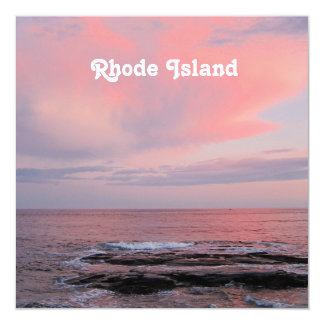 Rhode Island Sunset Invites