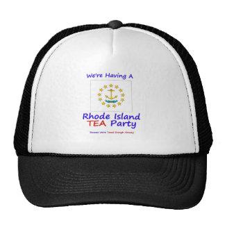 Rhode Island TEA Party - Taxed Enough Already Hats