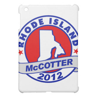 Rhode Island Thad McCotter iPad Mini Case