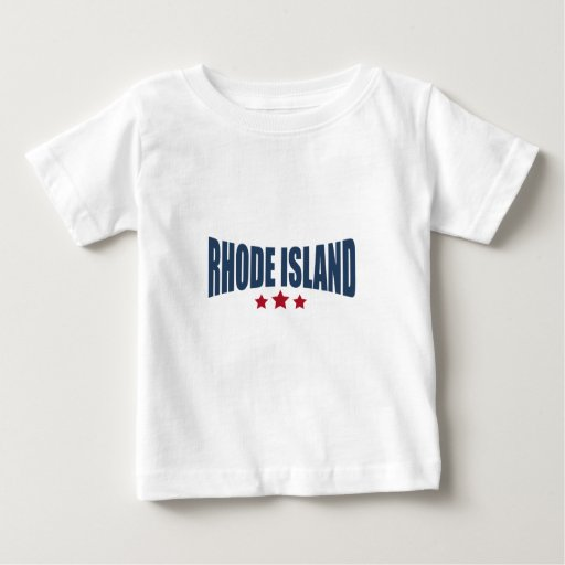Rhode Island Three Stars Design Tshirts
