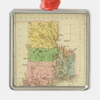 Rhode Island US Christmas Ornament