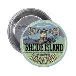 Rhode Island Vintage Travel Button
