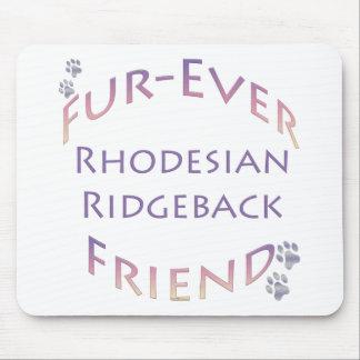 Rhodeisan Ridgeback Fur-ever Friend Mouse Pad