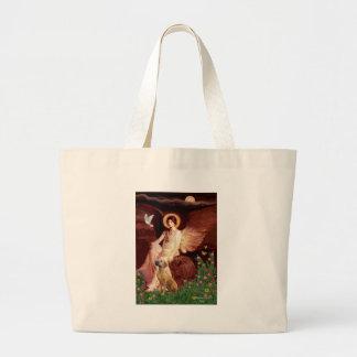 Rhodeisn Ridgebak 2 - Seated Angel Canvas Bag