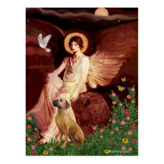 Rhodeisn Ridgebak 2 - Seated Angel Postcard