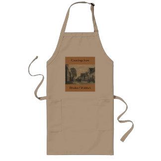 Rhoden / Waldeck Apron, Vintage Long Apron