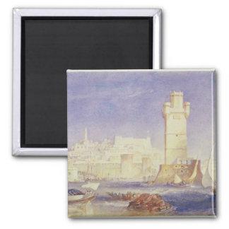 Rhodes, c.1823-24 (w/c & bodycolour on paper) magnet