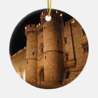 Rhodes  Greece angie Christmas Ornament