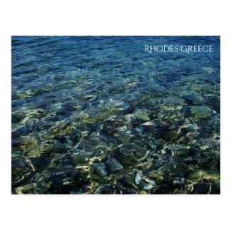Rhodes Greece Postcard