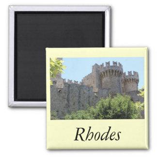 Rhodes Refrigerator Magnet