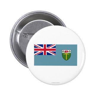 Rhodesia Flag (1964-1968) 6 Cm Round Badge