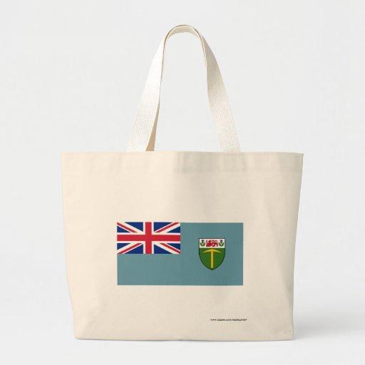 Rhodesia Flag (1964-1968) Canvas Bags