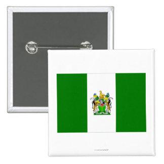 Rhodesia Flag (1968-1979) 15 Cm Square Badge