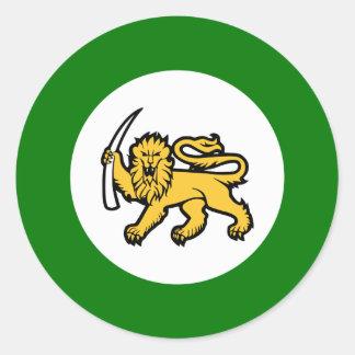 Rhodesian Air Force Round Sticker