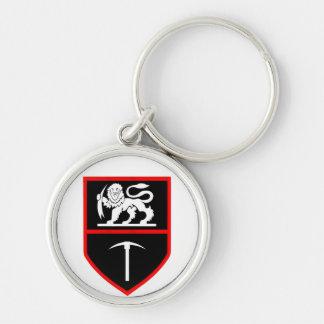 Rhodesian Army Insignia keychain