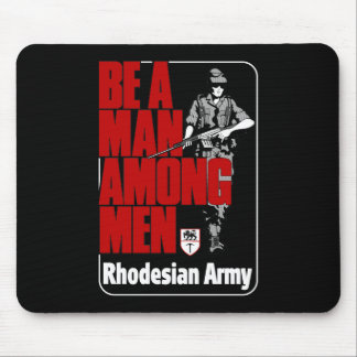 Rhodesian Army Poster Mouse Pad
