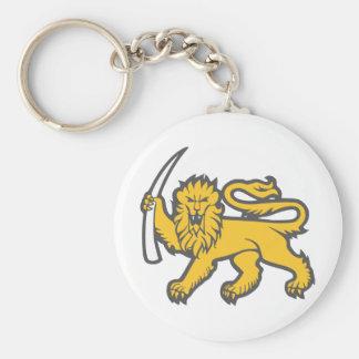 Rhodesian Lion Key Chains