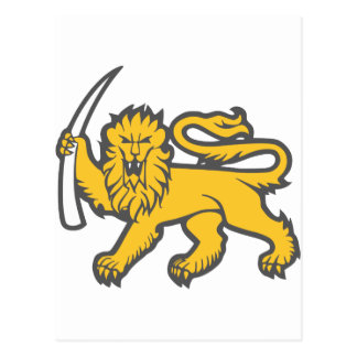 Rhodesian Lion Postcard