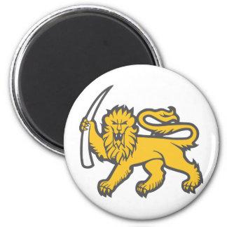 Rhodesian Lion Refrigerator Magnet