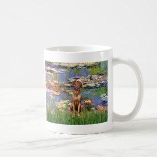 Rhodesian Ridgeback 1 - Lilies 2 Basic White Mug