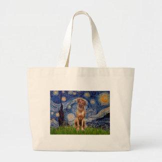 Rhodesian Ridgeback 1 - Starry Night Tote Bag