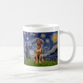 Rhodesian Ridgeback 1 - Starry Night Coffee Mug