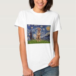 Rhodesian Ridgeback 1 - Starry Night T-shirts