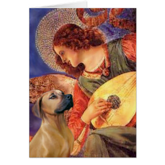 Rhodesian Ridgeback 2 - Mandolin Angel Card