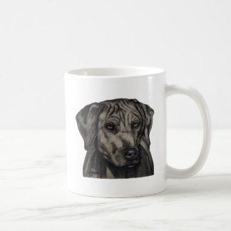 Rhodesian Ridgeback Dog Art - zulu Basic White Mug
