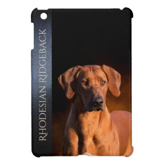 Rhodesian Ridgeback Hard shell iPad Mini Case