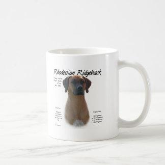 Rhodesian Ridgeback History Design Coffee Mug