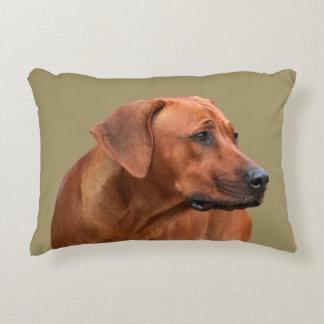 Rhodesian Ridgeback kiss Decorative Cushion