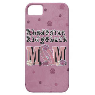 Rhodesian Ridgeback MOM iPhone 5 Cases