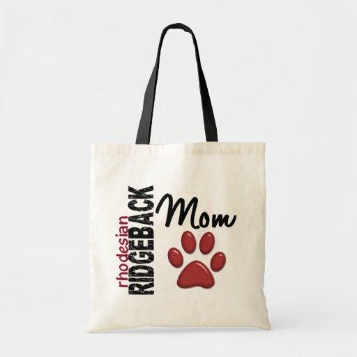Rhodesian Ridgeback Mum 2 Canvas Bag