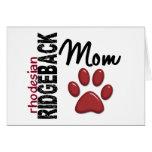 Rhodesian Ridgeback Mum 2 Cards