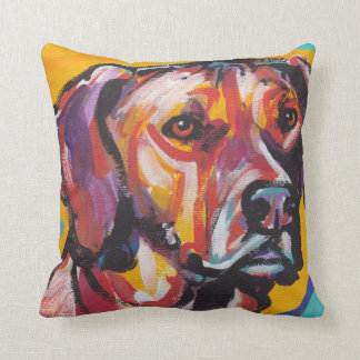 Rhodesian Ridgeback Pop Art Pillow