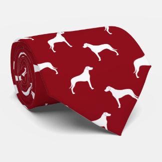Rhodesian Ridgeback Silhouettes Pattern Tie